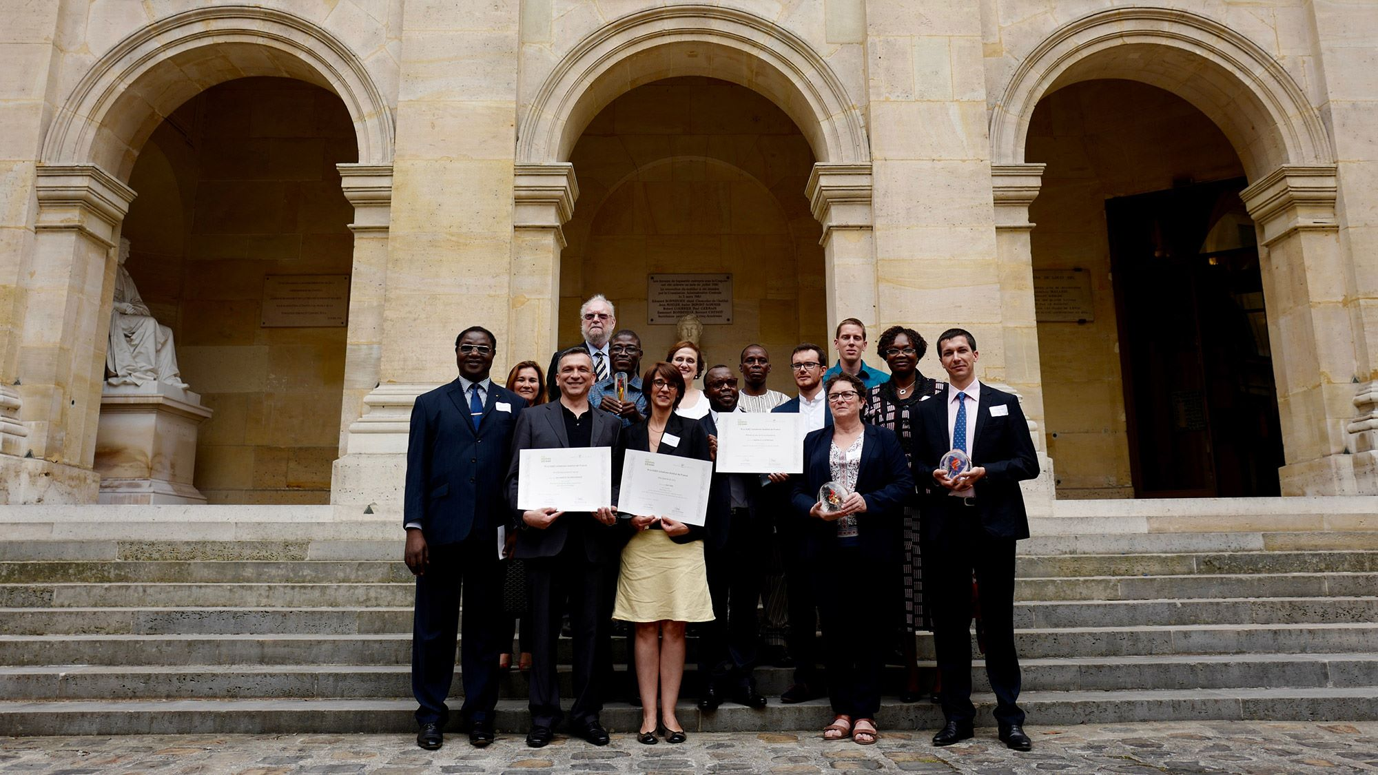 SUEZ initiatives Institut de France Prize 6th Edition
