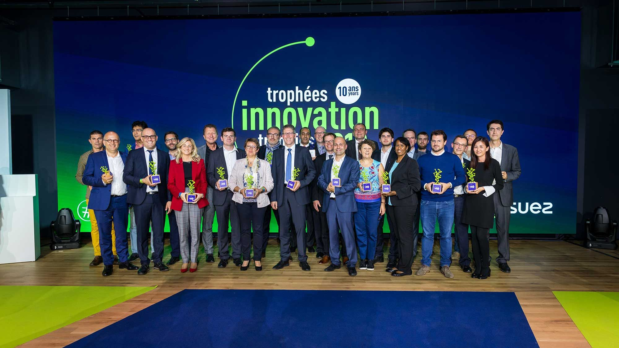 SUEZ Trophees de l'innovation 2018