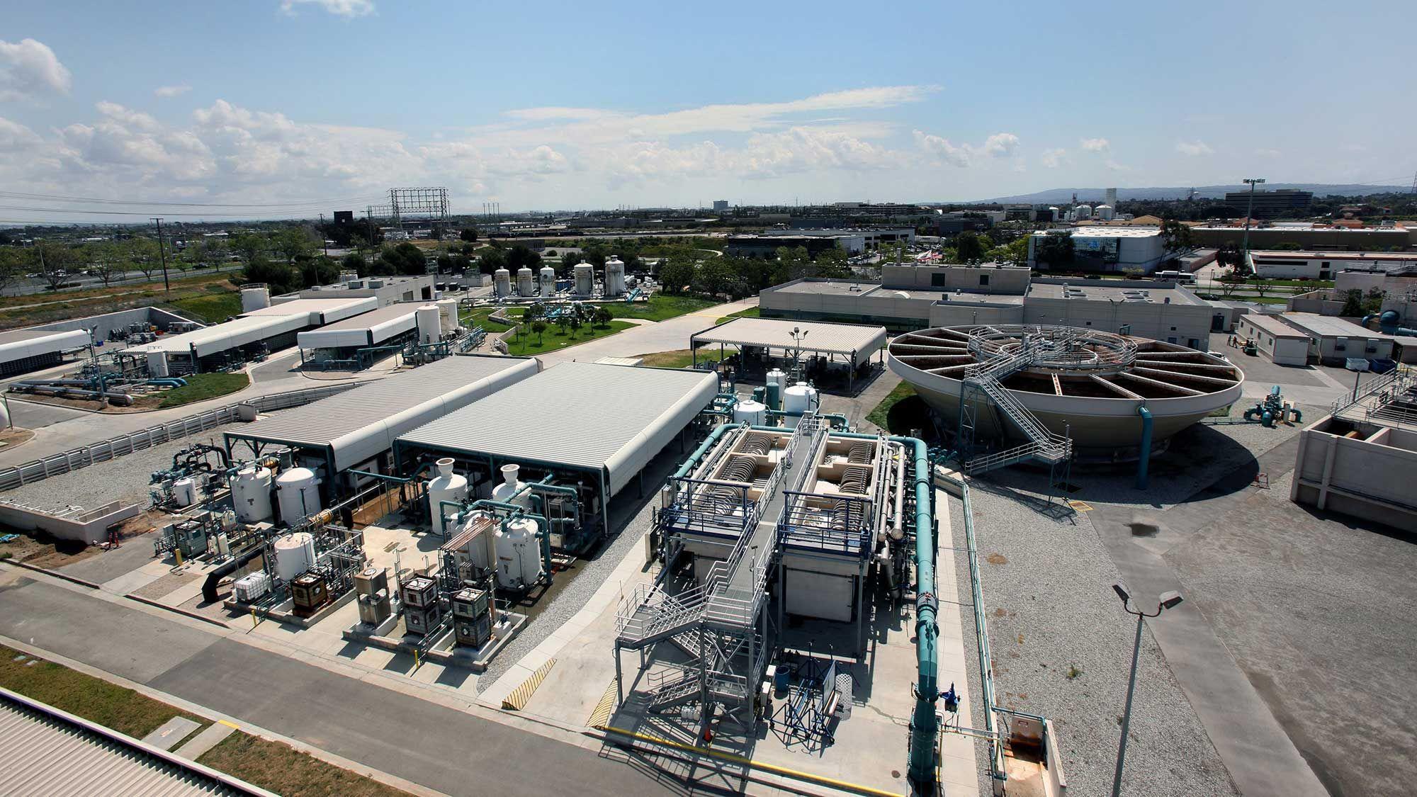 West Basin wastewater recycling plant SUEZ web