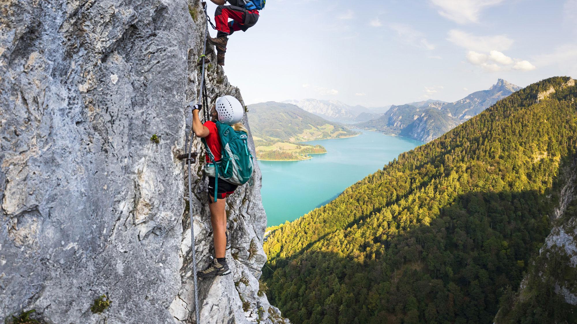 mountain climbing home