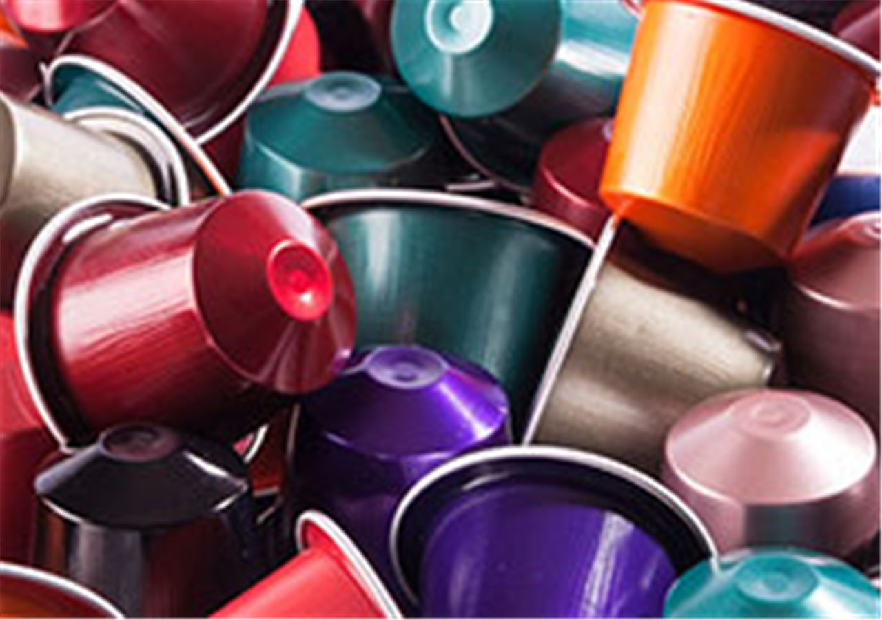 Coffee capsules recycling