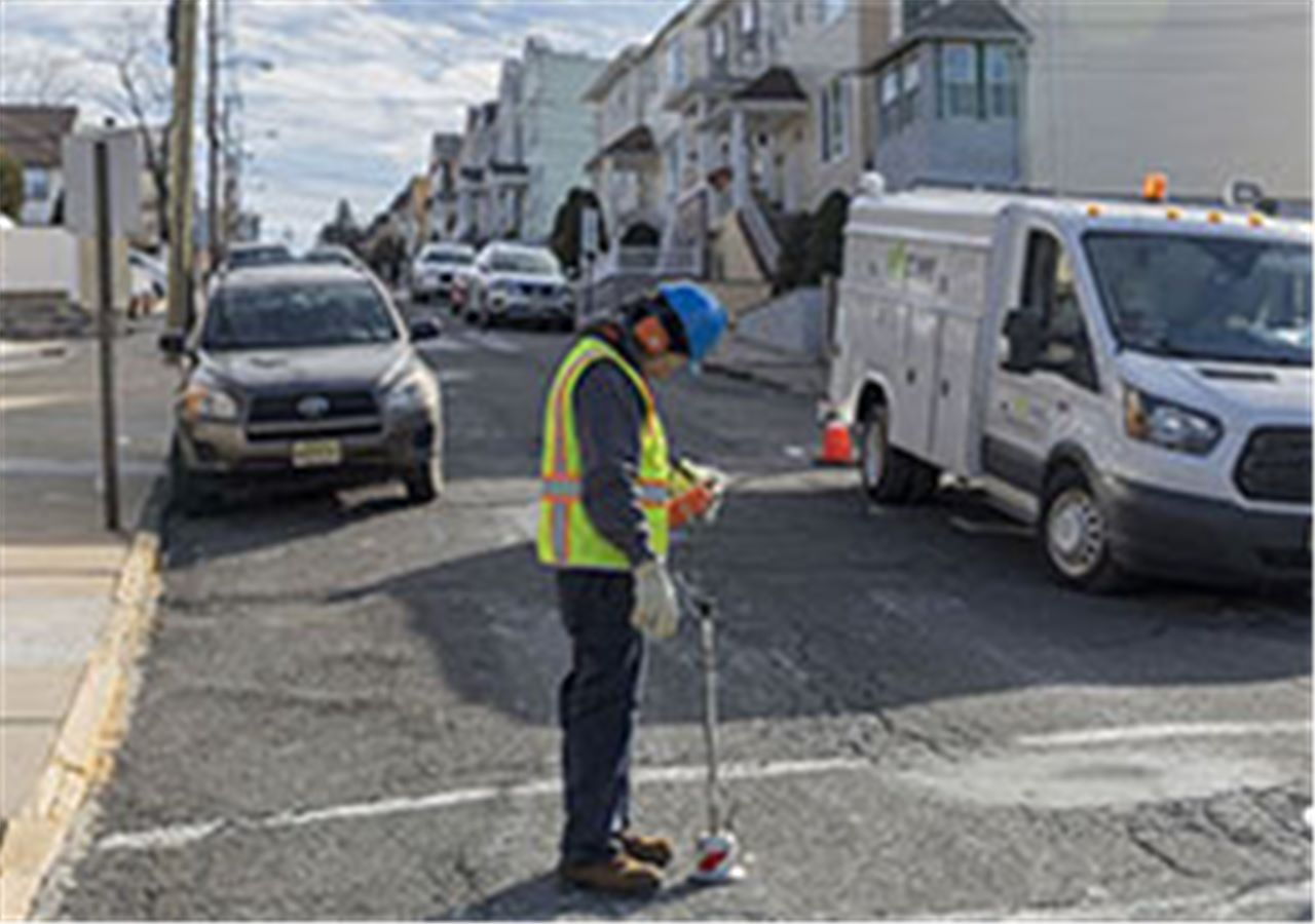 Street leak detection