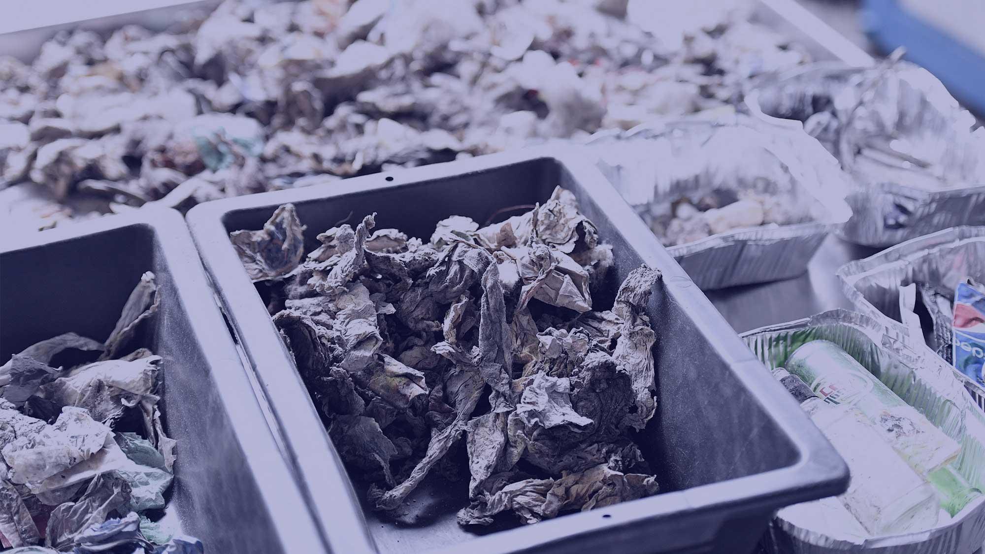 循环再造及废物回收
