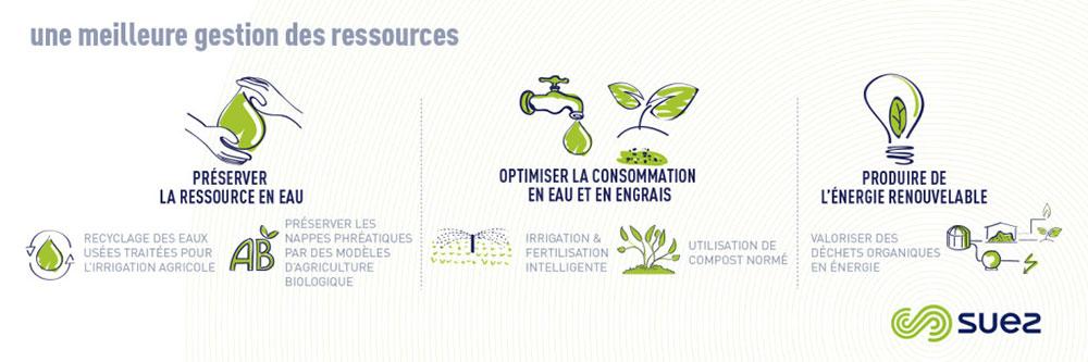 Infographie sur la meilleure gestion des ressources