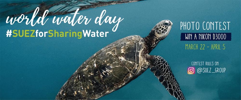Journée mondiale de l'eau Suez