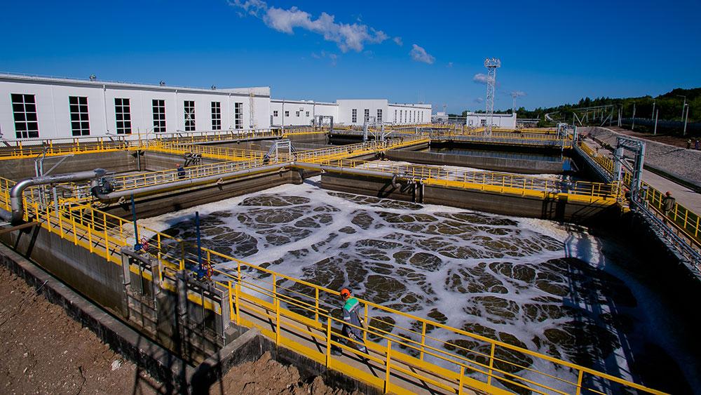 Installations de traitement biologique à la raffinerie de Bashneft-Ufaneftekhim