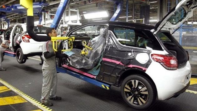 Chaine montage auto