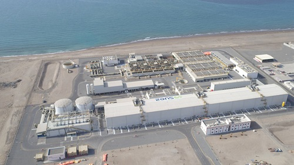 sea water desalination plant Barka Oman