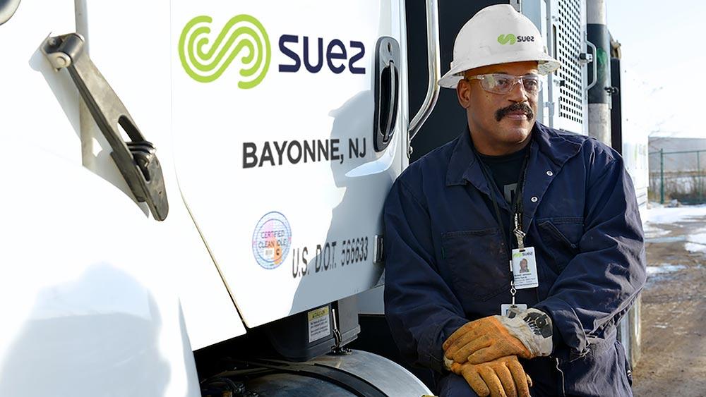 Collaborateur SUEZ à Bayonne
