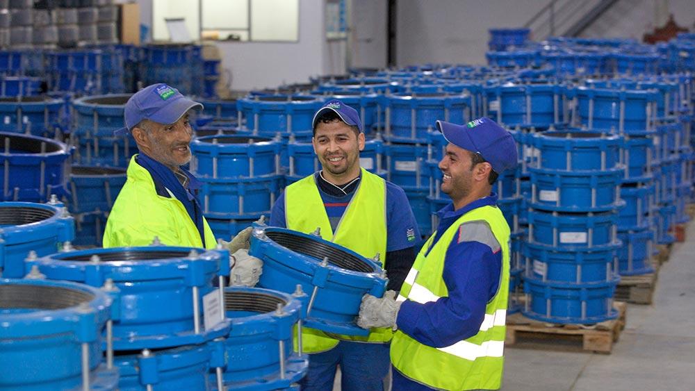 Réseau de distribution d'eau potable