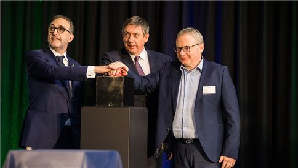 Inauguration of Valomet Belgium