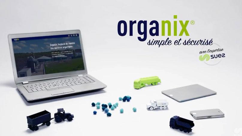 Place de marché Organix®