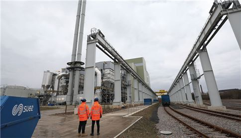Merseyside County - Self-sufficient plant installation