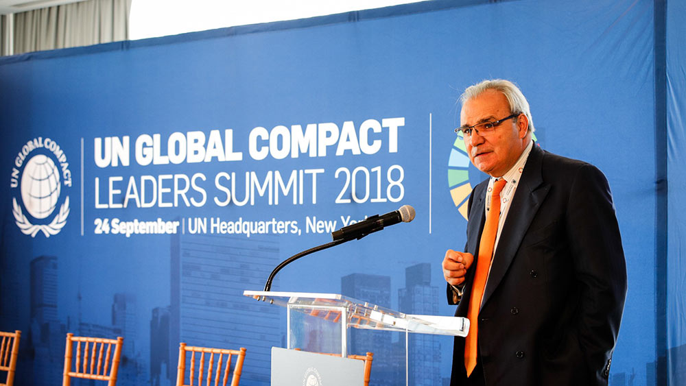 SUEZ Jean Louis Chaussade SDG Pioneer Global Compact