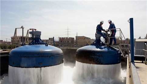 SUEZ SEAAL Water treatment plant of Boudouaou in Algiers