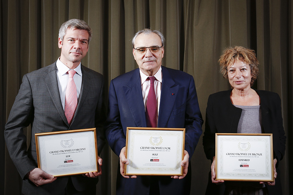Trophees Le Revenu 2018 award
