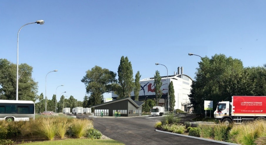 La Métropole de Lyon confie l'exploitation de  L'unité de traitement et de valorisation des déchets au Groupe SUEZ