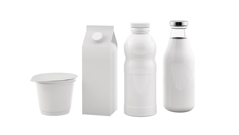 packaging blanc