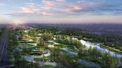 Zone Libellule - Parc industriel en Chine
