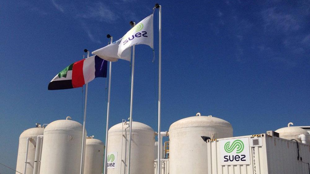 usine de dessalement SUEZ à Abu Dhabi