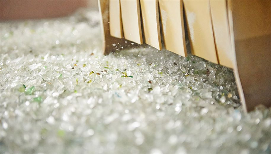 Glass recycling-High 5 recycling plant in Belgium-SUEZ