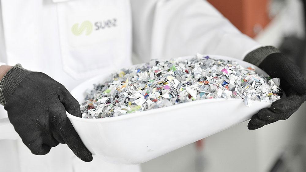 SUEZ laboratory-Plast'lab-recycled plastic