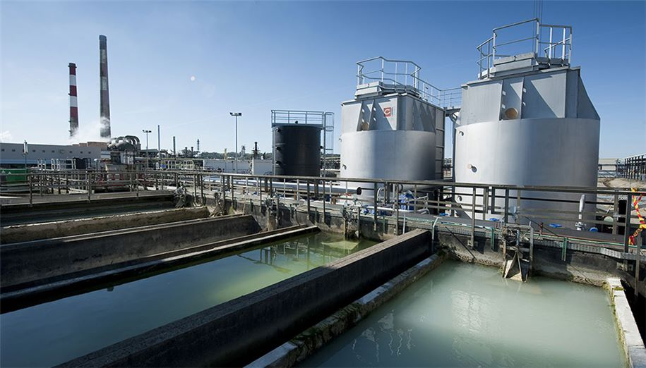 SUEZ wastewater treatment plant