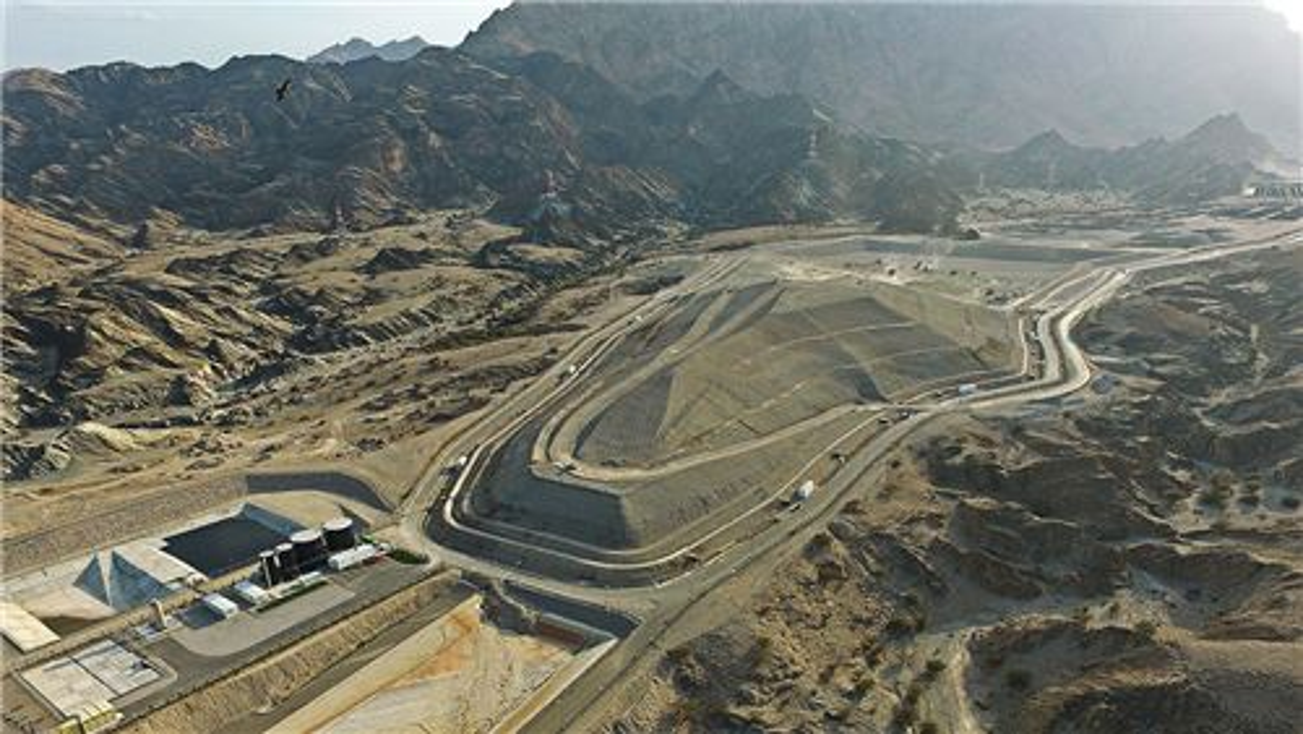 Site d'enfouissement (Al Multaqa, Oman)