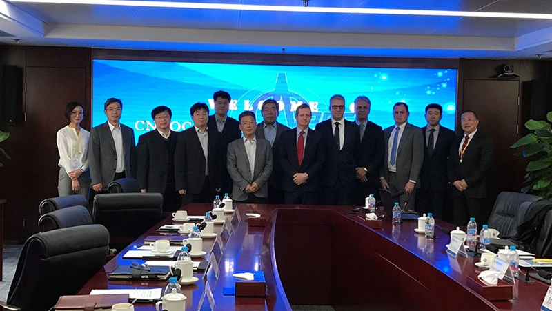 SUEZ NWS and CNOOC Energy Technology sign the agreement to establish SUEZ NWS Environmental Management Hainan Company