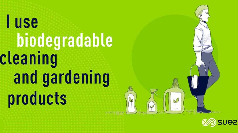 Capsule Biodegradable cleaning and gardening products