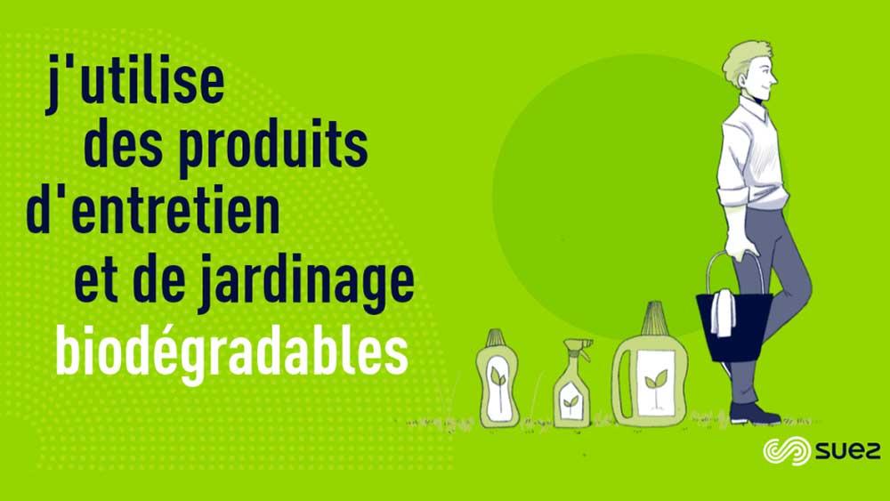 Ecogeste - Capsule - Produits entretien et jardinage biodégradables