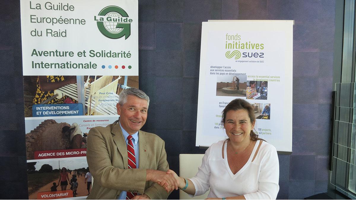 Partenariat La Guilde Fonds SUEZ