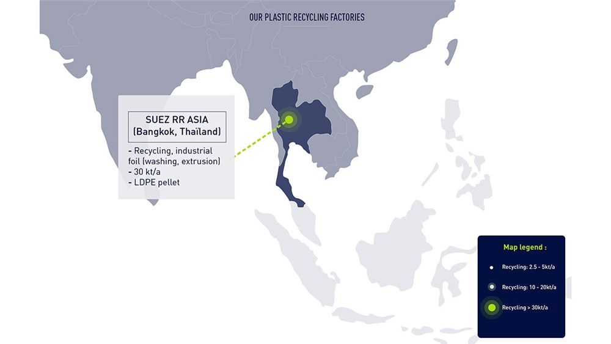 SUEZ's sustainable plastic factories in Asia