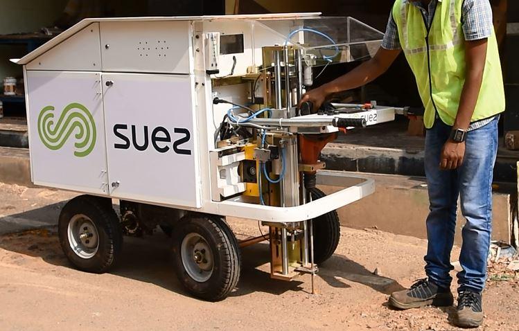 suez water netwark