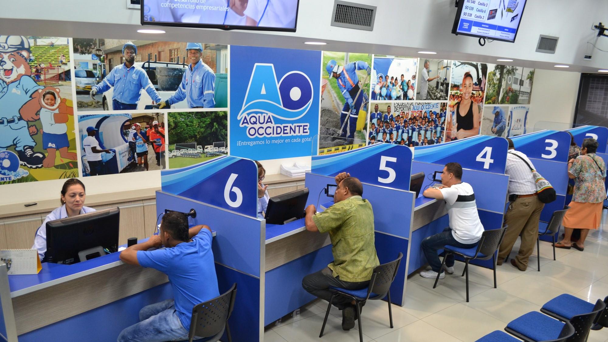 Imagen de lo atendimiento a lo consumidor de Aquaoccidente