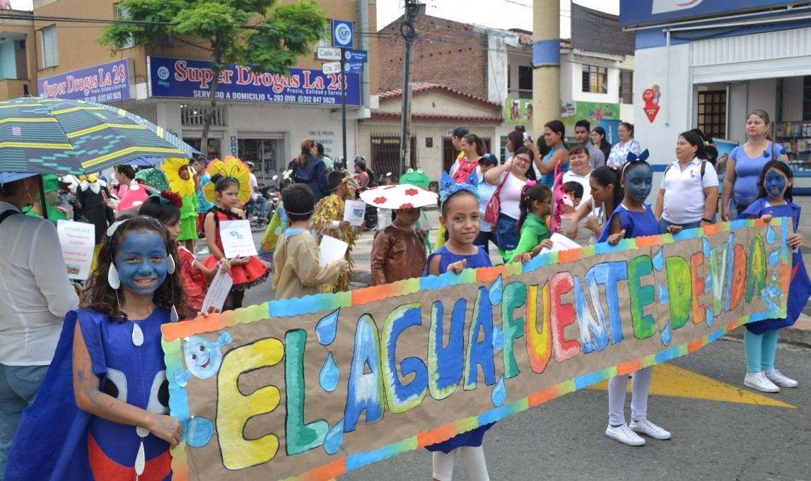 SUEZ Noticia Aquaoccidente patrocina el Carnaval del Agua en Palmira