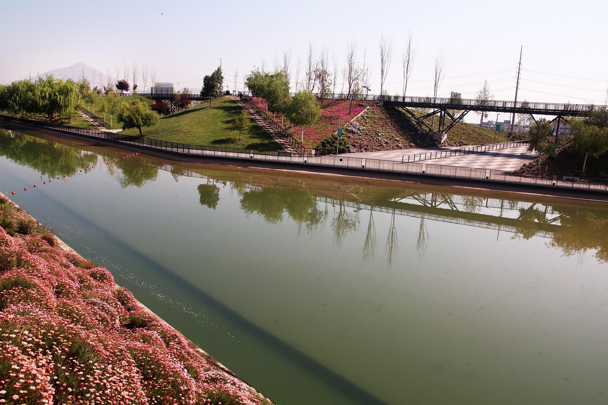 SUEZ Noticia Chile parque fluvial de la familia