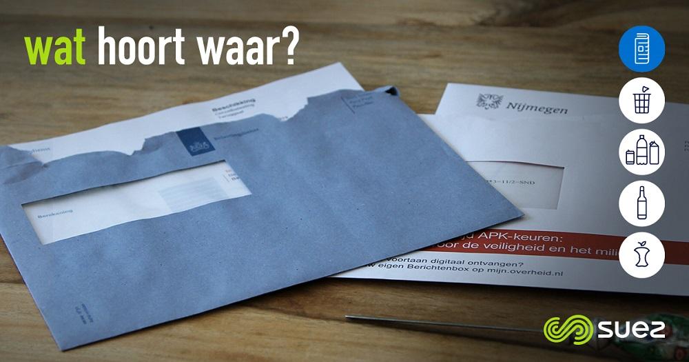 suez papier wat hoort waar belastingenveloppe