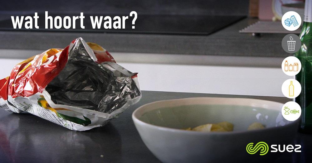 suez restafval wat hoort waar chipszak