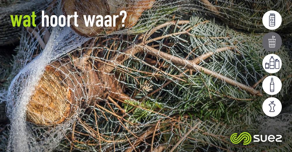 suez restafval wat hoort waar kerstboomnetten