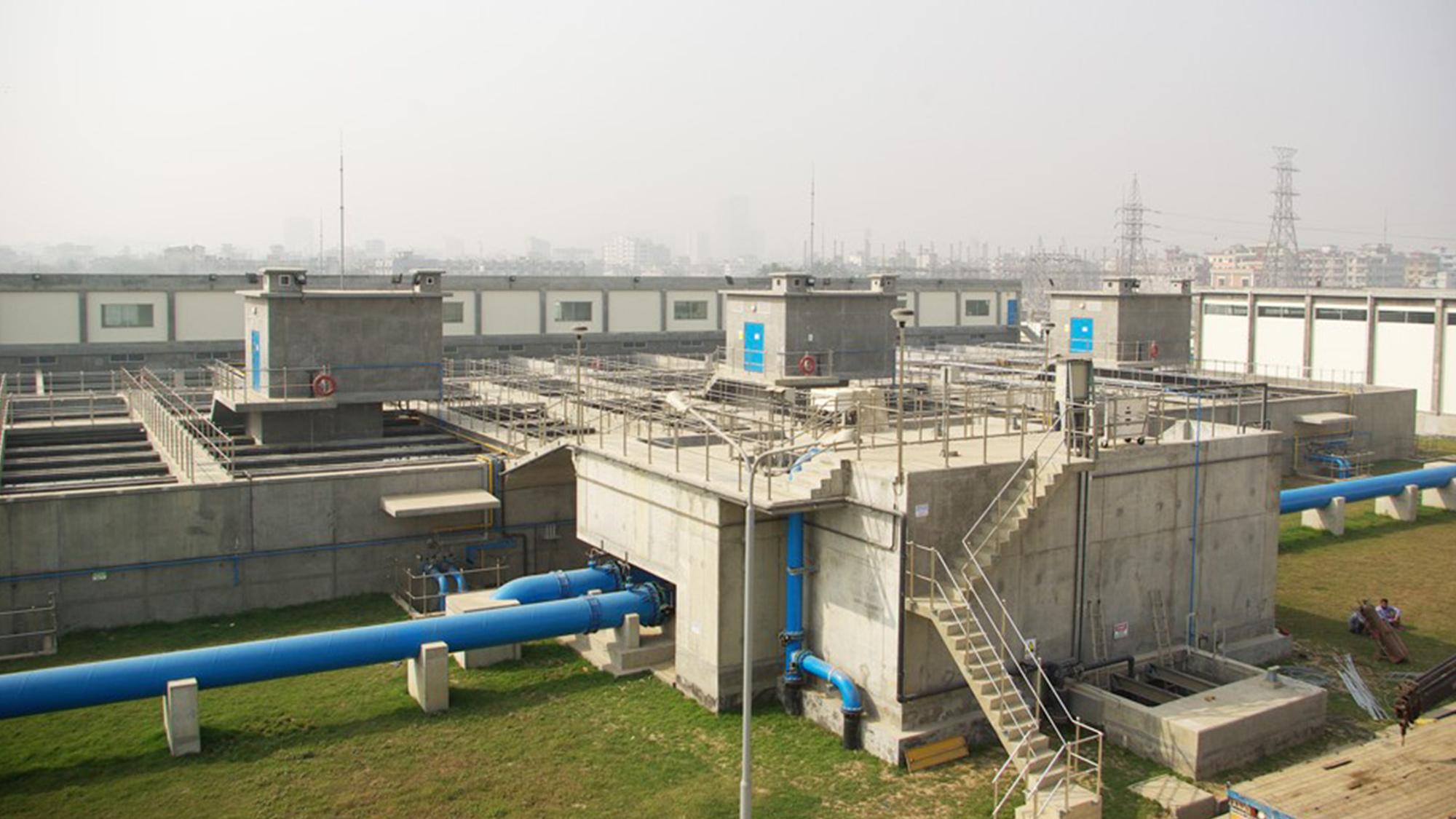 Saidabad drinking water plant