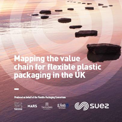 SUEZ flexible plastic packaging report image