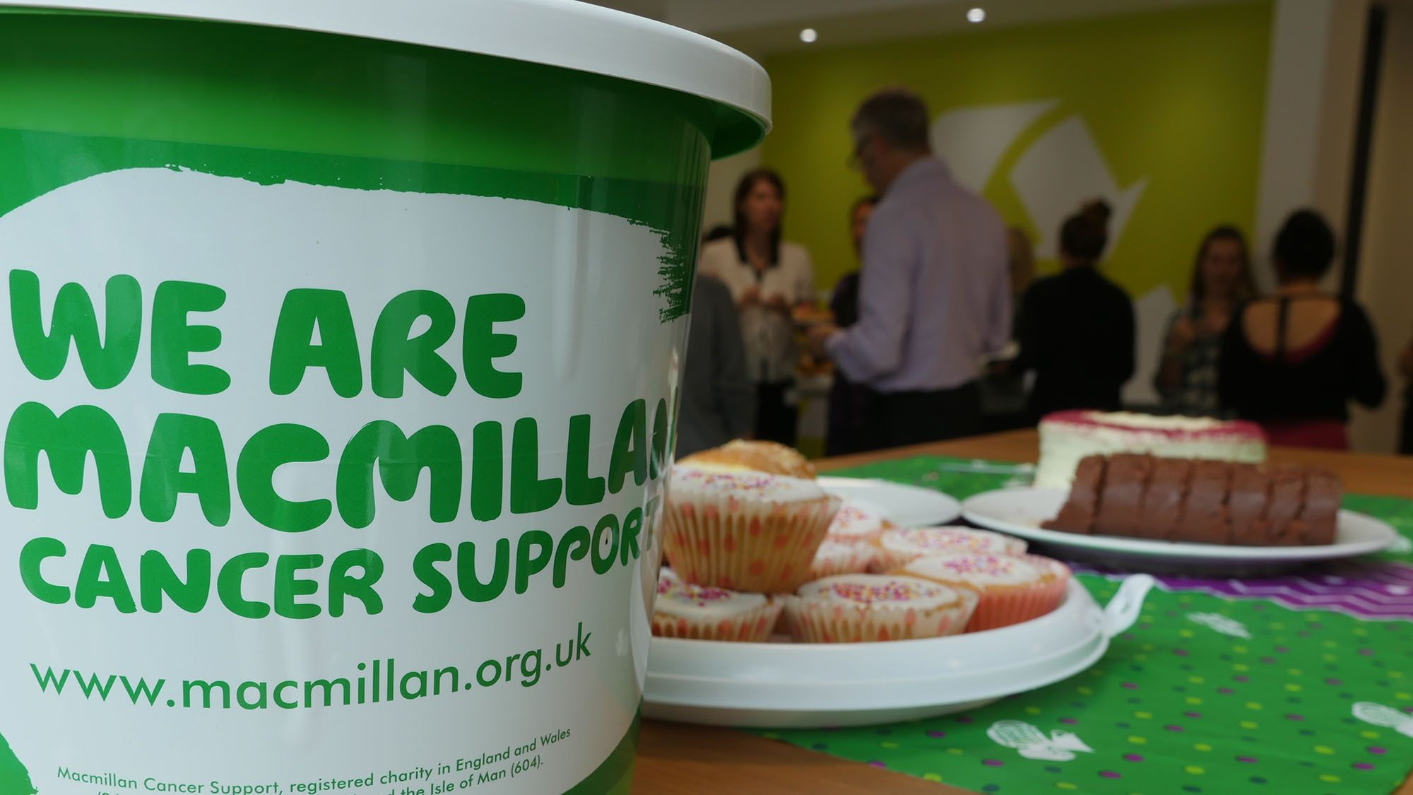 Macmillan coffee morning at SUEZ House in Maidenhead
