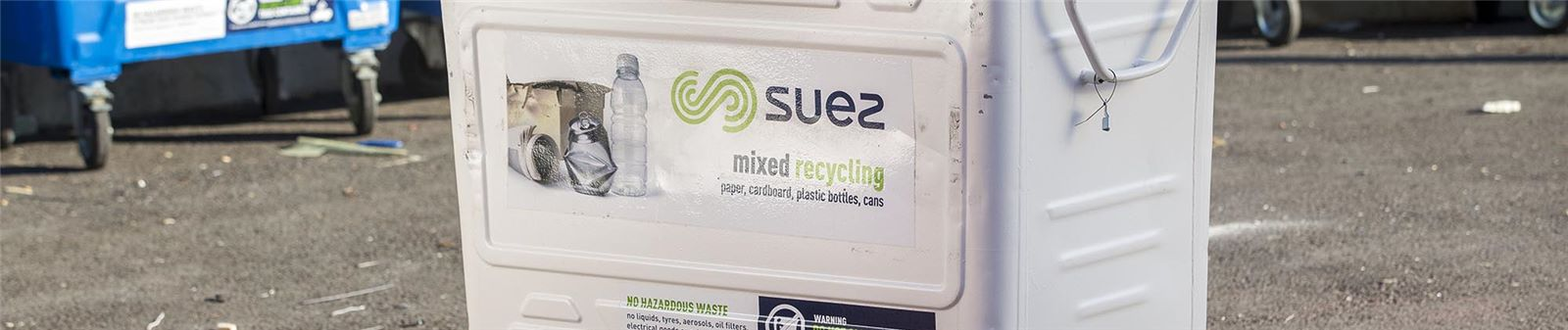 SUEZ RecyclingContainer Poole UK CW
