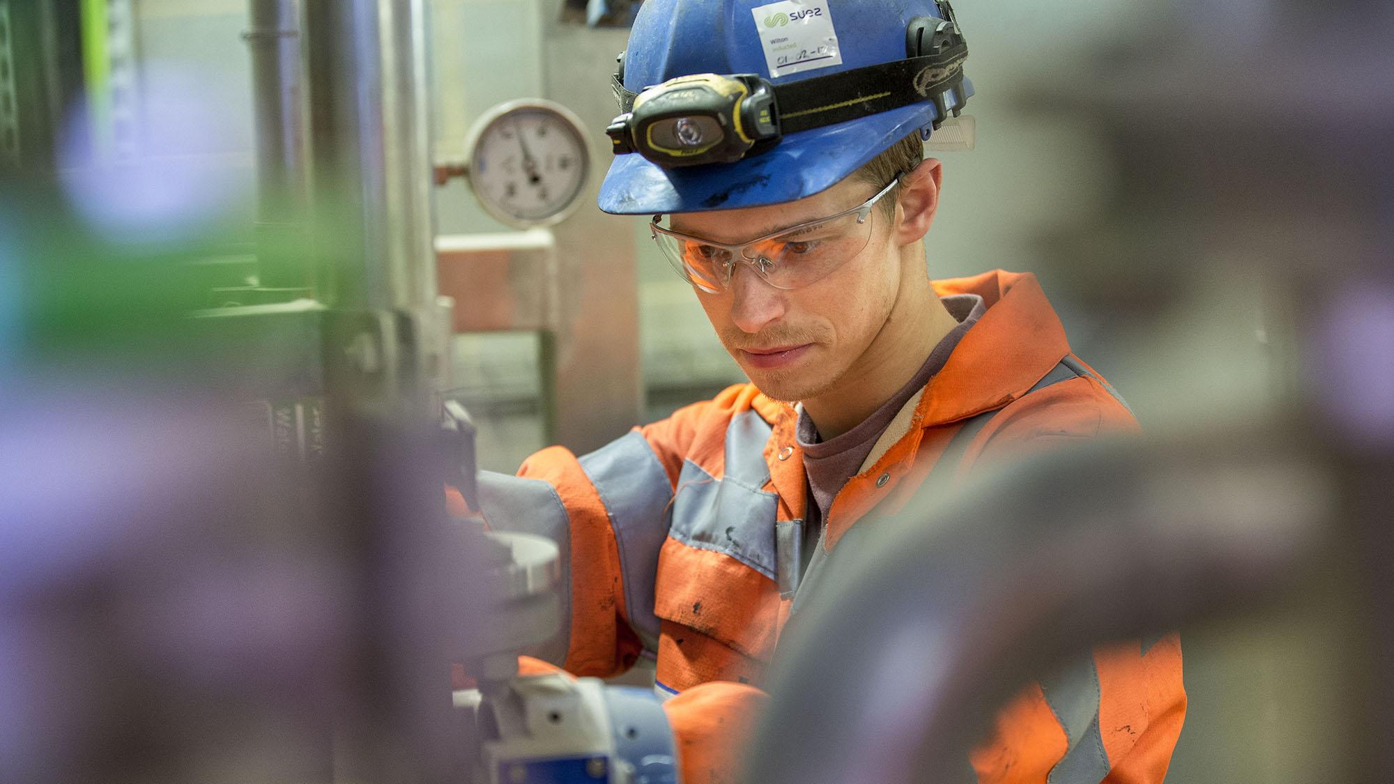 SUEZ employee Teesside energy-from-waste facility