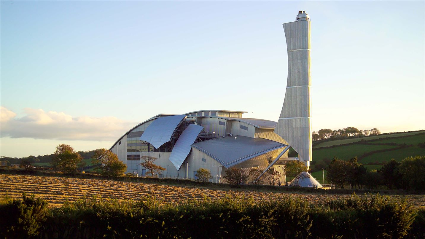 Isle of Man energy from waste facility