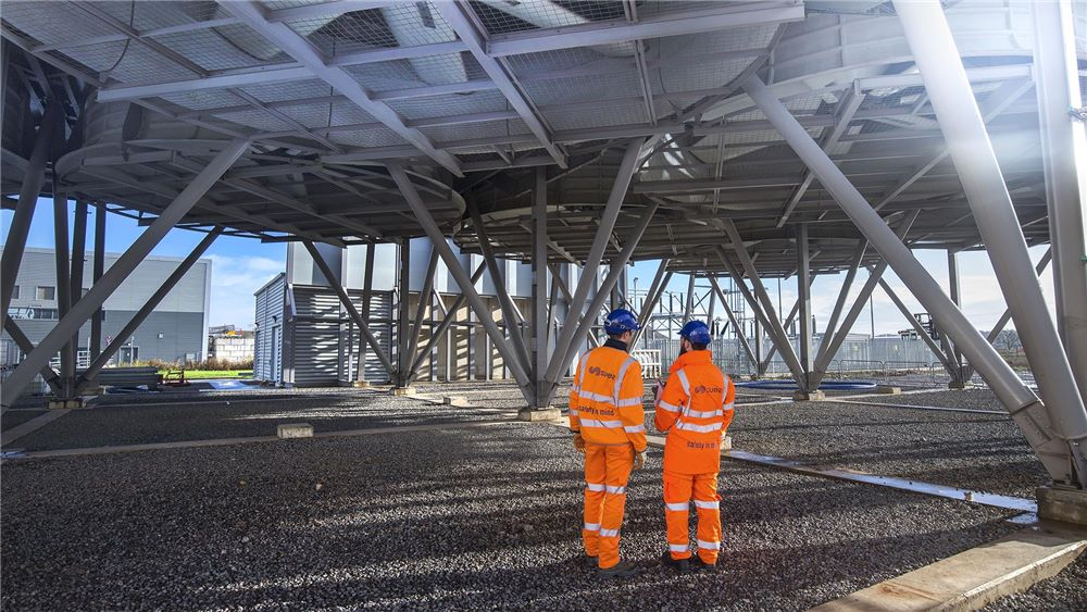 SUEZ employee at Severnside energy recovery centre
