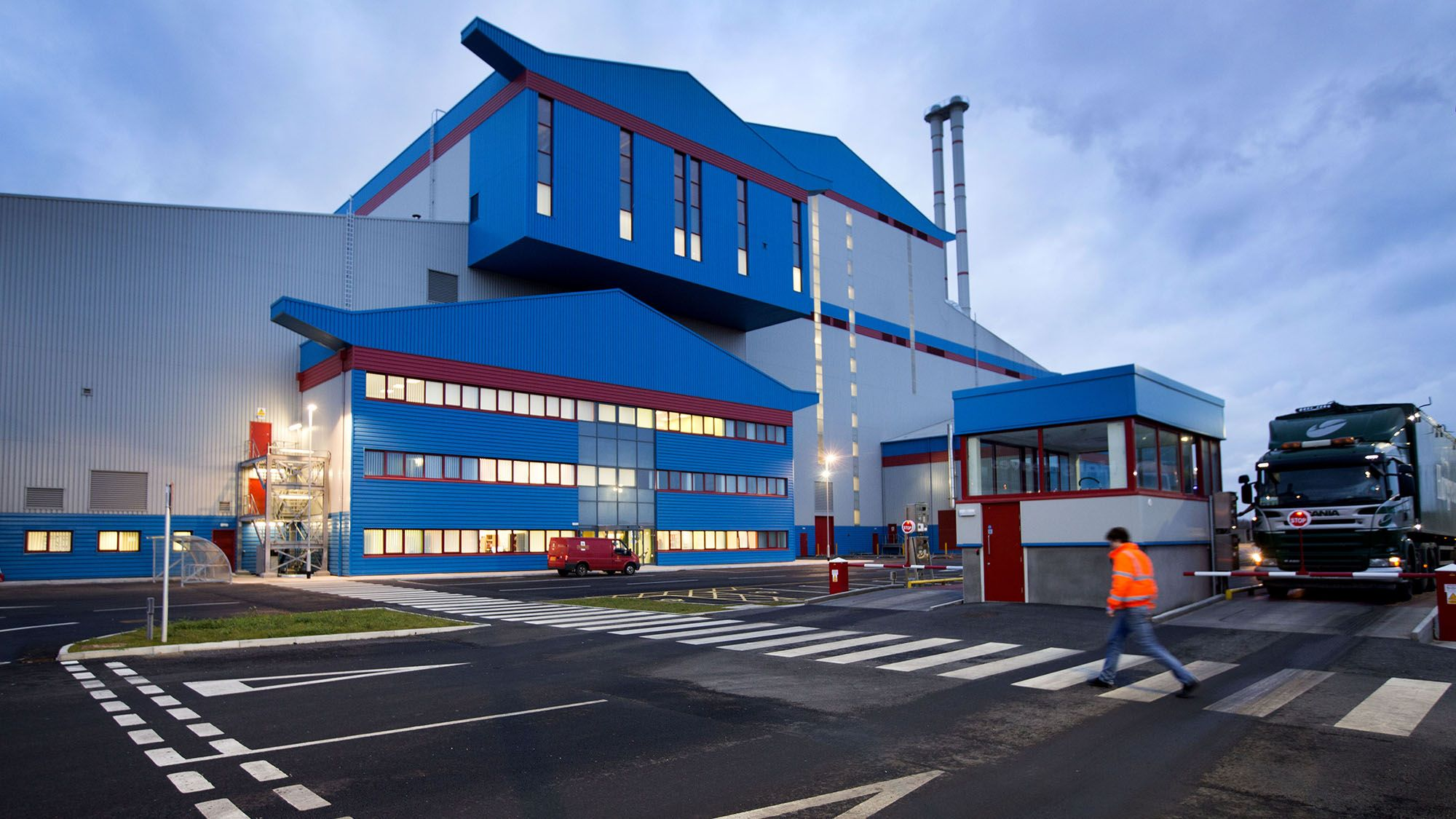 Teesside energy from waste facility