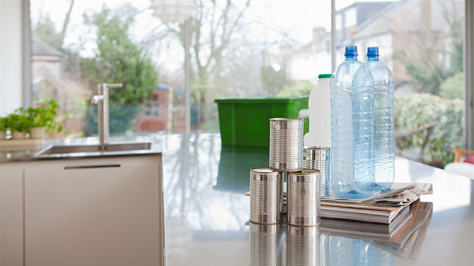 Household recycling items