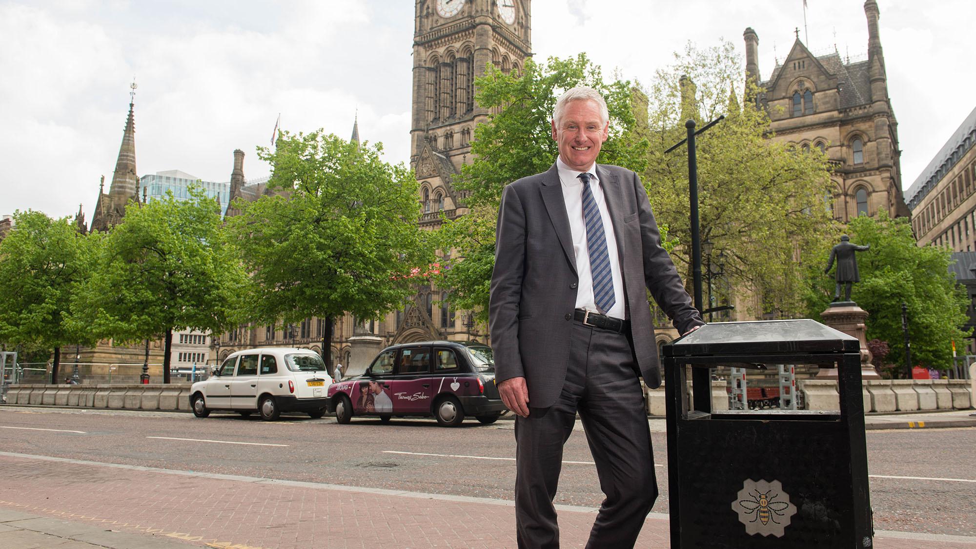 David Palmer Jones in Manchester